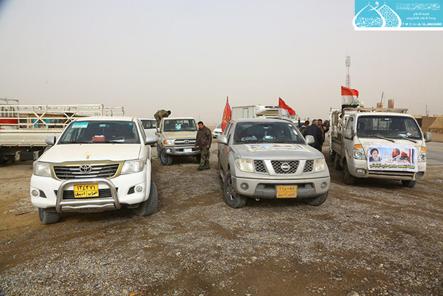 KHS Still Sends Logistic Support to Haweeja and Riyadh Sectors